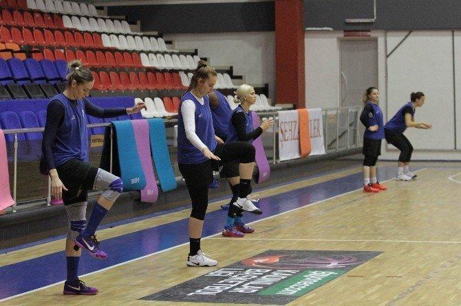 Canik Belediyespor'un hedefi Play-Off