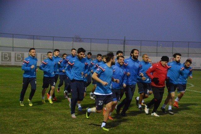 Mavi-Beyazlılar ikinci yarının hazırlığını Antalya'da sürdürüyor