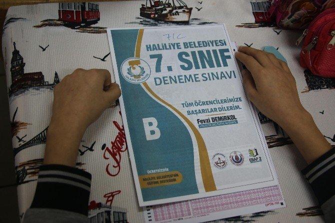 Haliliye'de deneme sınavı projesi başladı