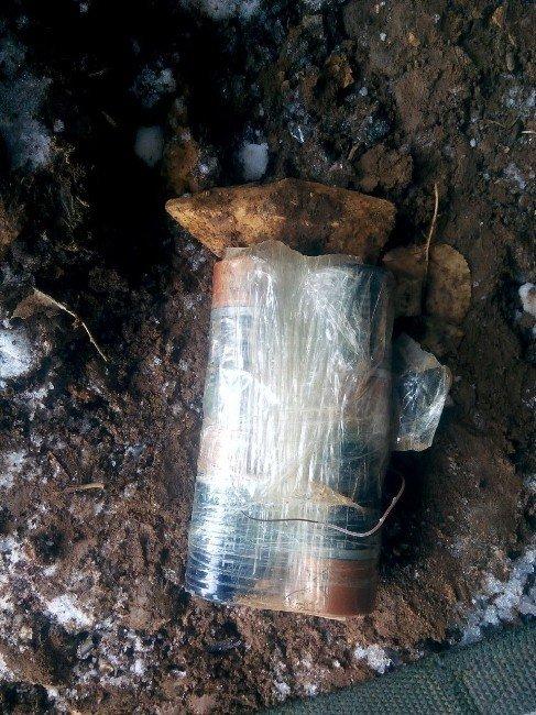 Siirt'te el yapımı patlayıcı ele geçirildi