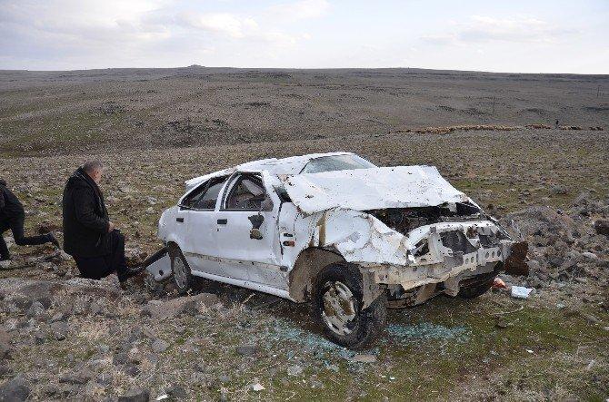 Siverek'te trafik kazası: 1'i çocuk 3 yaralı