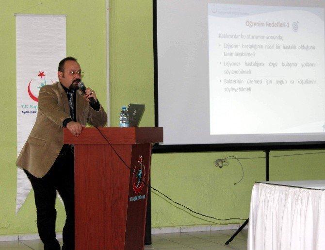 Aydın'da sağlıkçılara yönelik 'Lejyoner' eğitimi düzenlendi