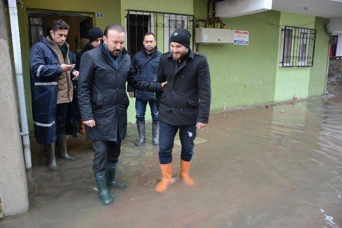 Başkan Doğan, mahallelerde incelemelerde bulundu