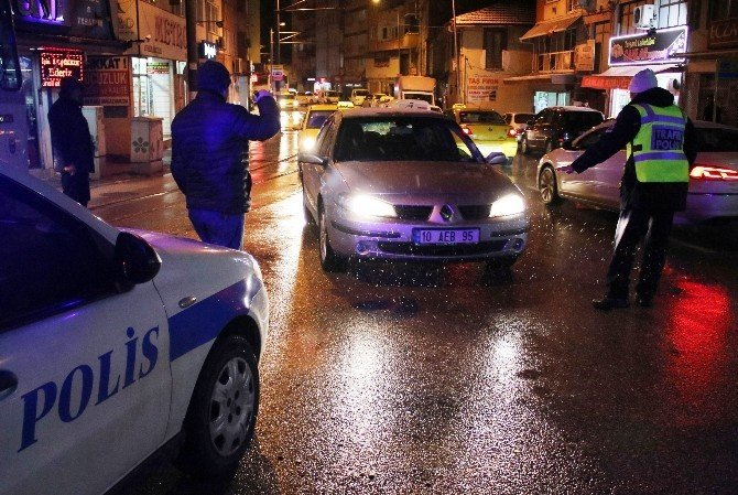 Bursa'da yılbaşı operasyonu