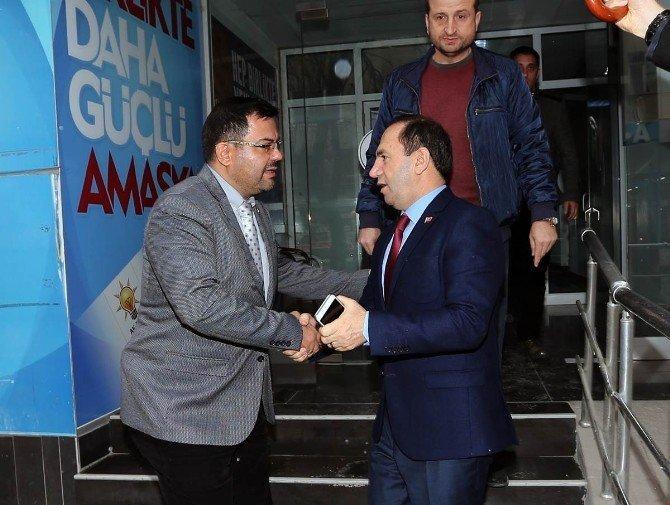 Vali Işık siyasi partileri dolaştı