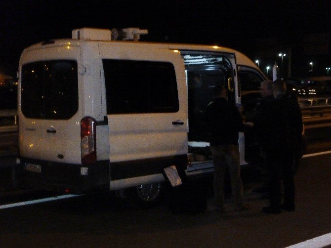 Kartal'da şüpheli araç polisi alarma geçirdi