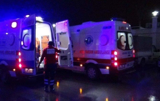 Silivri'de trafik kazası: 4 yaralı