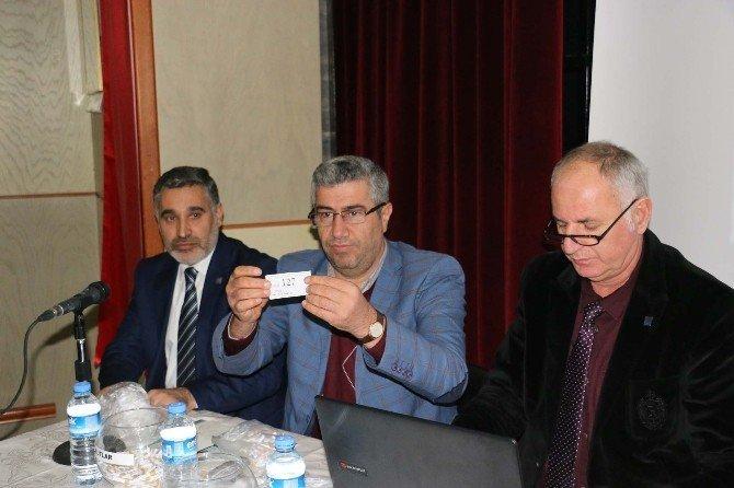 Bitlis'te TOKİ konutları için çekilişler yapıldı