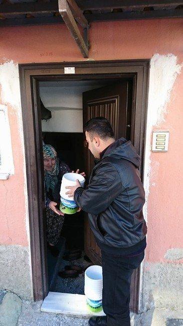 İnönü'nün meşhur manda kaymağı ve yoğurduna belediye eli değdi