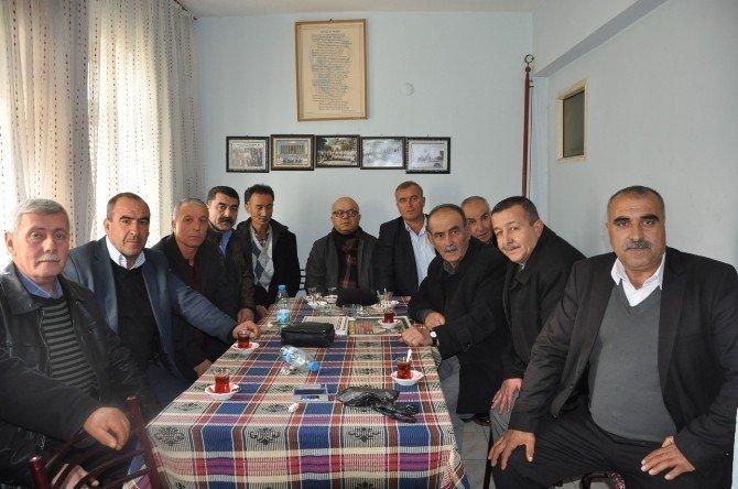 Aksoy'dan Muhtarlar Derneği'ne ziyaret