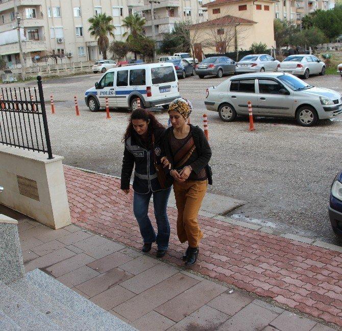 Antalya'da PKK propagandası yapan 2 şüpheli adliyeye sevk edildi