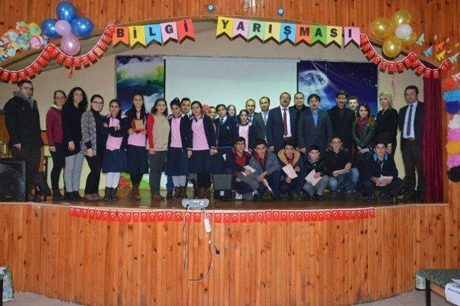 """Patnos'ta """"Pansiyonum güzel evim"""" bilgi yarışması düzenlendi"""