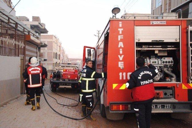 Şanlıurfa'da külliye yangını