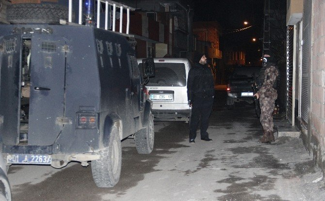Adana merkezli bin polisle uyuşturucu operasyonu