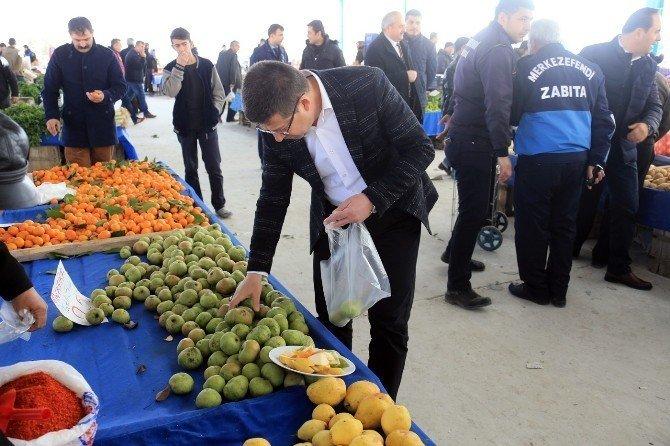 Başkan Subaşıoğlu, İlbade Pazaryeri'ni ziyaret etti