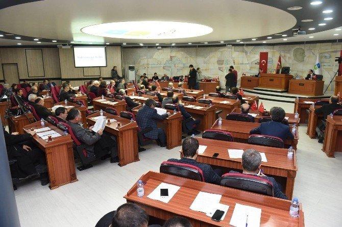 Büyükşehir Belediye Meclisi Ocak Ayı 1. Birleşimi Yapıldı