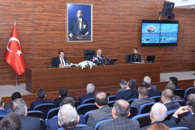 İl Koordinasyon Kurulu Toplantısı, Vali Çakacak başkanlığında yapıldı