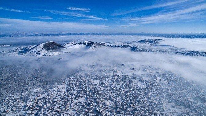 Kula Volkanik Jeoparkı, güzelliğiyle büyüledi