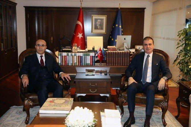Vali Demirtaş'ın, Ankara temasları