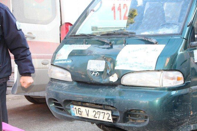 Bilecik'te trafik kazası, 1 kişi yaralandı