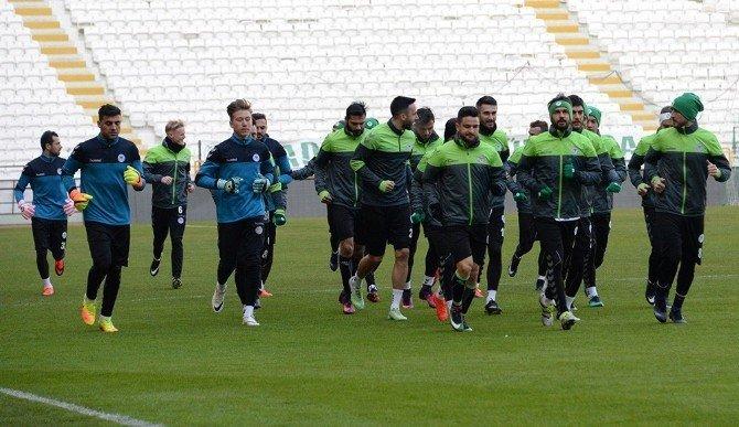 Konyaspor, Galatasaray maçına hazır