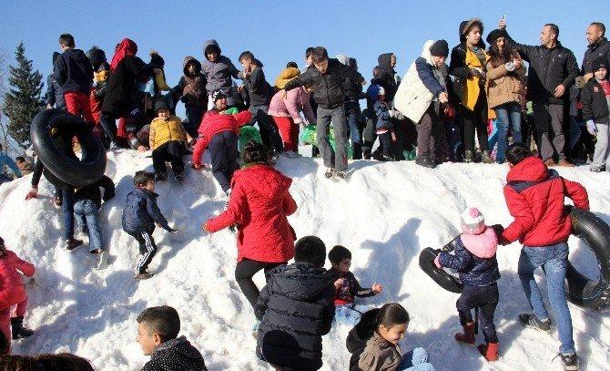 Adanalıların kar sevinci