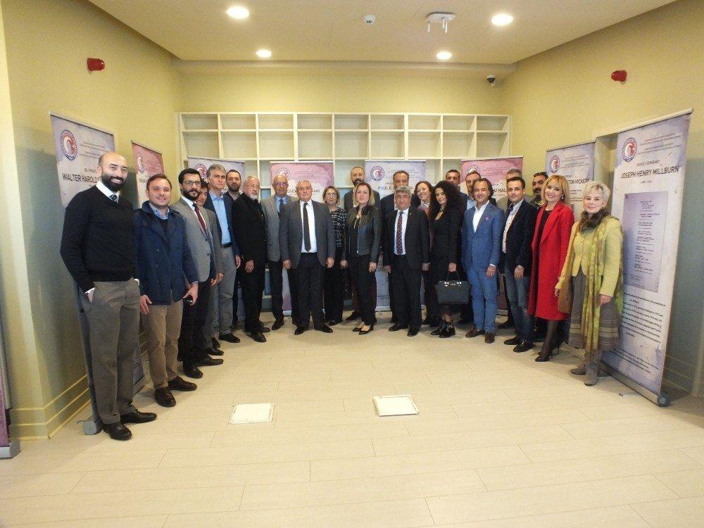 """Antalya'da """"18 Mart Çanakkale savaşı"""" paneli düzenlendi"""