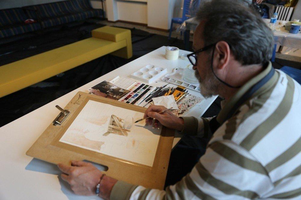 Gaziantep uluslararası sanat çalıştayına ev sahipliği yapıyor