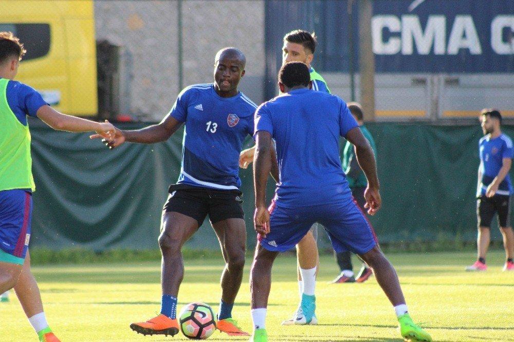 Karabükspor'da Konyaspor hazırlıkları sürüyor