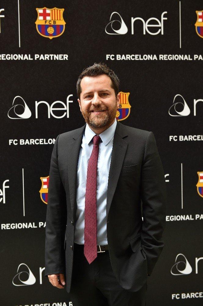 Nef Barcelona'nın yeni sponsoru oldu
