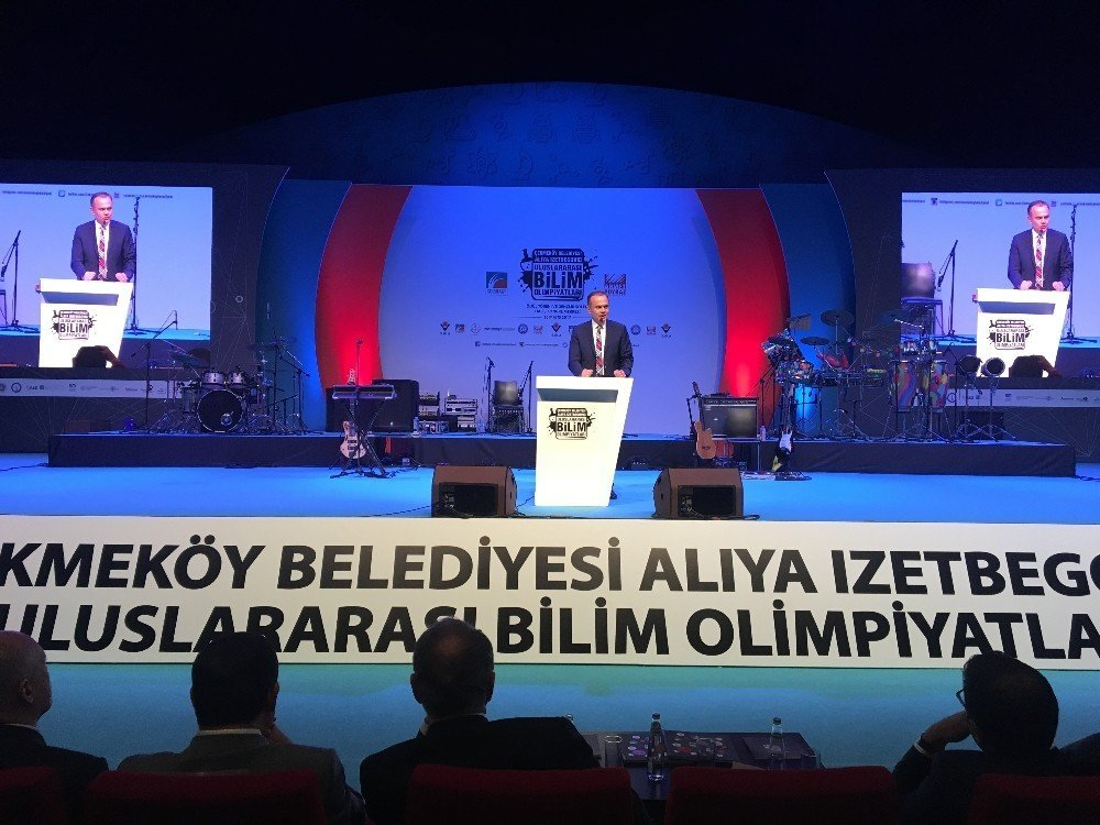 """""""Aliya İzzetbegoviç Uluslararası Bilim Olimpiyatları"""" ödül töreni"""
