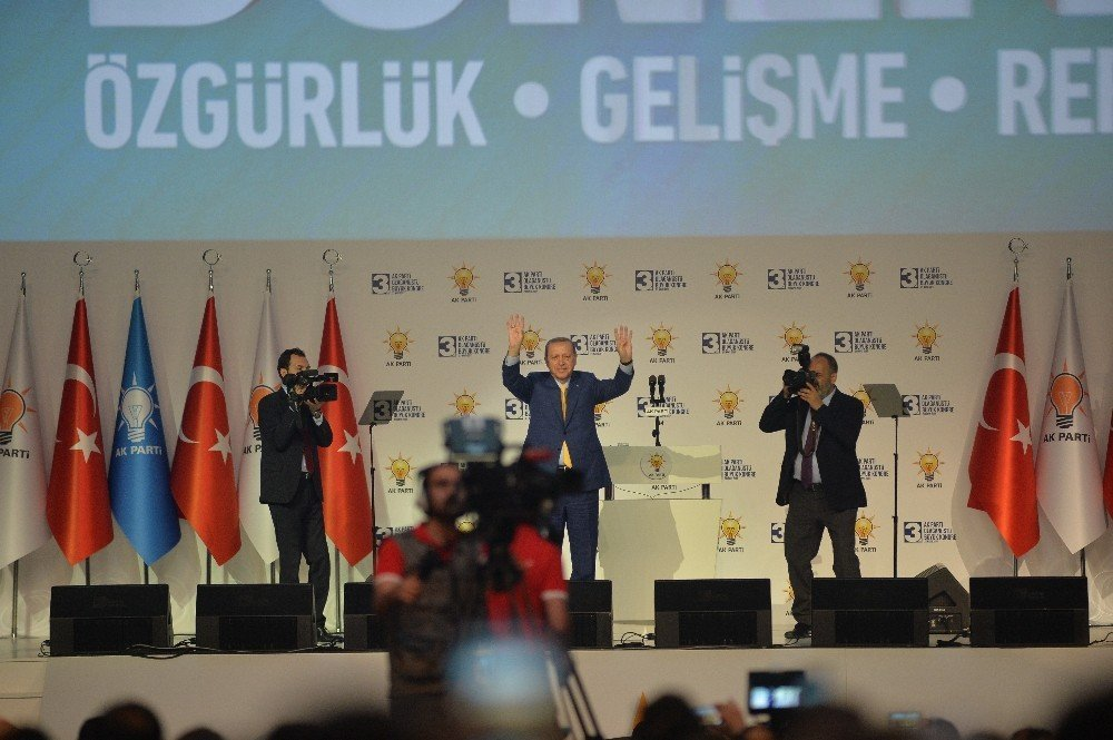 Erdoğan besmele ve Fatiha ile geri döndü