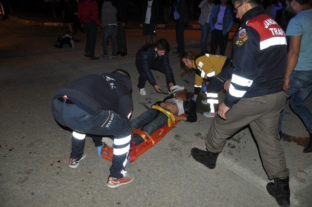 Gençler ölümden döndü: 2'si ağır 3 yaralı