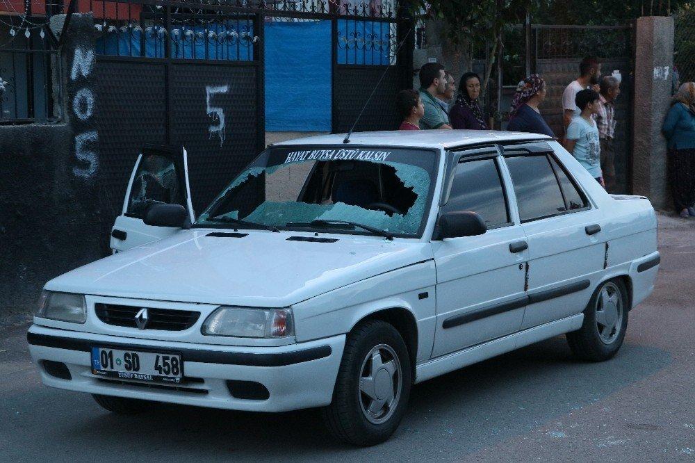 Önce aracına ateş açtı, sonra araçtan indirip dövdü