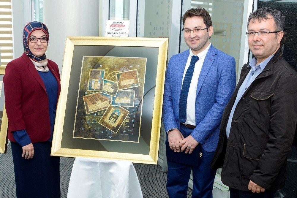 Meram'da minyatür yarışmasının ödülleri verildi