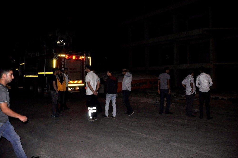 Konya'da intihar girişimi!