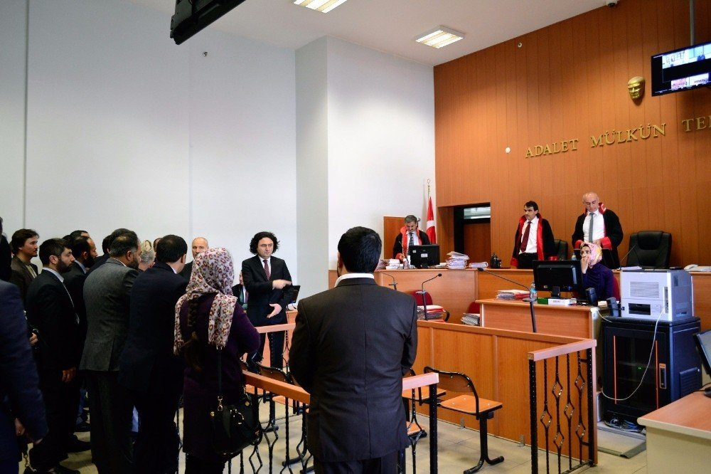afganistan yuksek mahkemesi heyetinden konya adliyesine ziyaret
