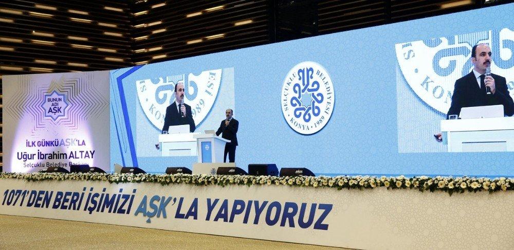 Başkan Altay, 2017 yılı hizmetlerini anlattı