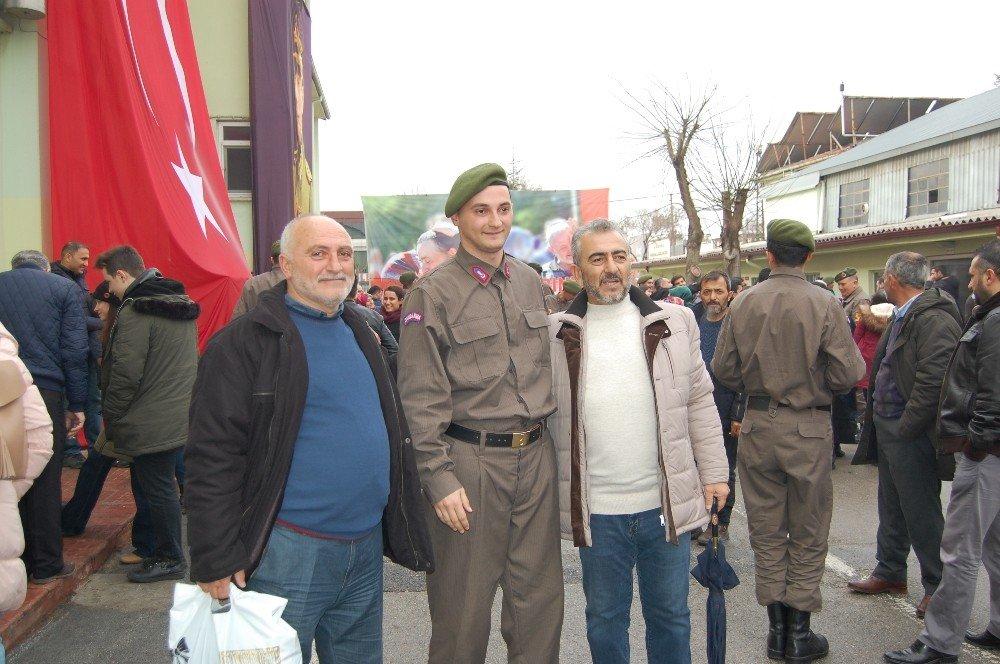 Jandarmada yemin töreni heyecanı