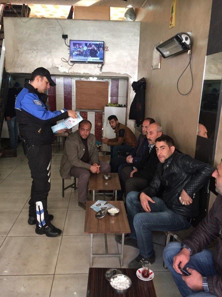 Bitlis emniyetinden broşürlü uyarı