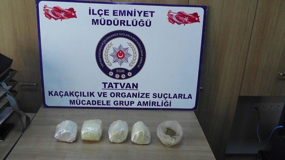 Bitlis'te uyuşturucu operasyonları