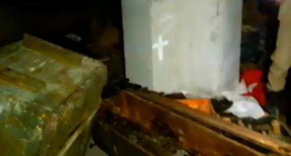 Cinderes'te teröristlerin cephaneliği ele geçirildi