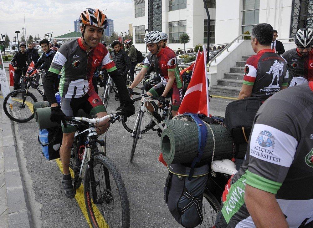 Selçuk'tan Çanakkale'ye bisiklet turu