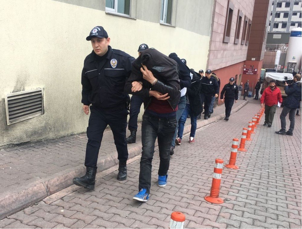 Kayseri Haberleri: Uyuşturucu tacirlerine operasyon: 7 gözaltı 96
