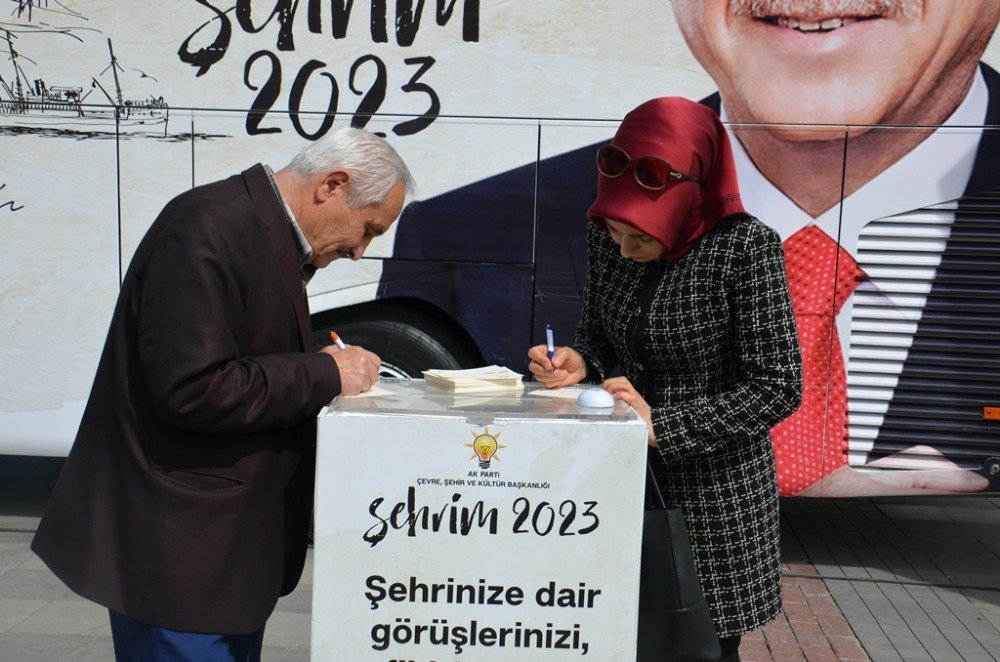Şehrim 2023 Otobüsü Konya'da