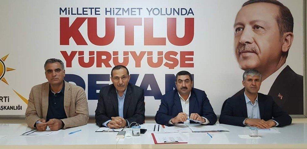 AK Parti seçim koordinasyon toplantısı yaptı