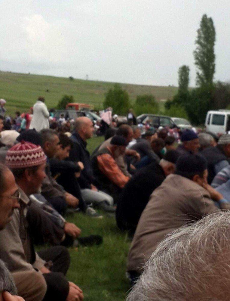 Genel Müdür Kadir Dinç, Turgutlar köyündeki yağmur duasına katıldı