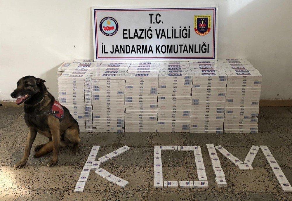 Havalandırmada 7 bin 500 paket kaçak sigara elegeçirildi