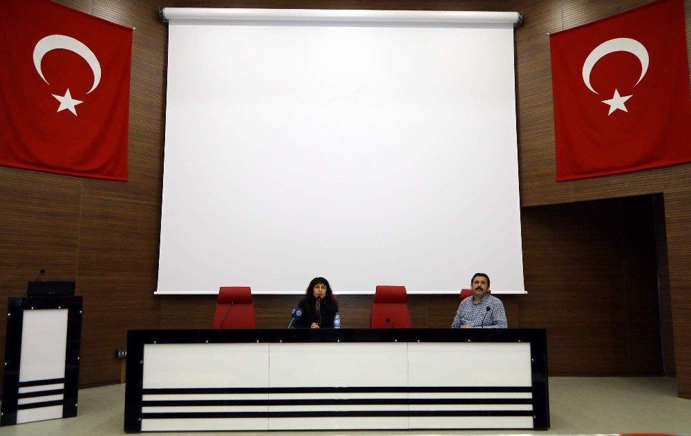ERÜ'de 'Düşüncenin İzinde XXXV: E. Levinas' Konulu Konferans Düzenlendi