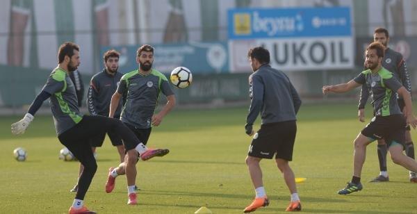 Konyaspor, Göztepe maçının hazırlıklarını sürdürüyor